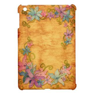 Mini cas d'iPad floral élégant Coque Pour iPad Mini
