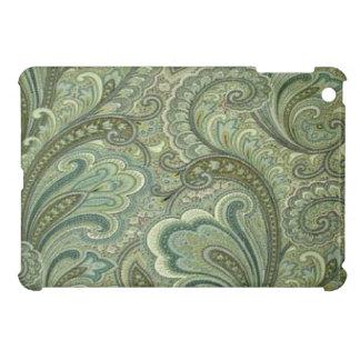 Mini cas d'iPad sage vintage de Paisley Étuis iPad Mini