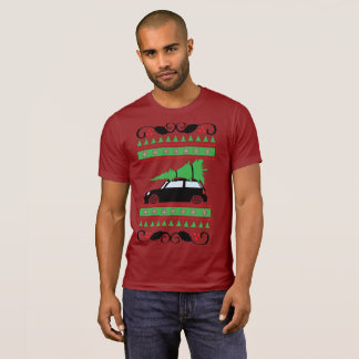 Mini Cooper-Weihnachten T-Shirt
