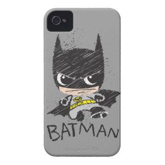 Mini klassische Batman-Skizze iPhone 4 Cover