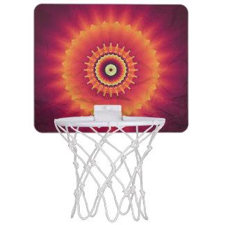 Mini-panier De Basket But tribal de basket-ball de kaléidoscope