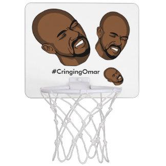 Mini-panier De Basket Cercle de basket-ball se tapissant d'Omar