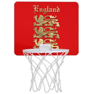 Mini-panier De Basket L'Angleterre - le manteau des bras