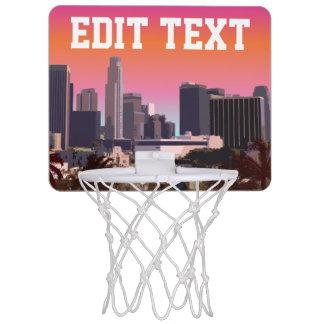 Mini-panier De Basket Los Angeles du centre - image personnalisable
