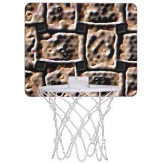 Mini-panier De Basket Mini cercle de basket-ball - effet de brique