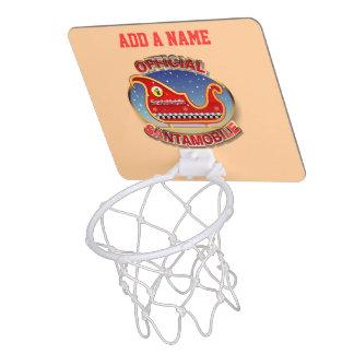 Mini-panier De Basket SantaMobile