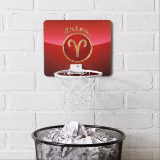 Mini-panier De Basket Symbole de zodiaque de Bélier