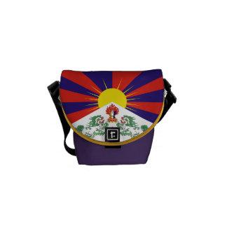 Mini sac messenger à banlieusard de drapeau sacoches