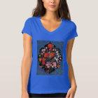 Miniatur der persischen Kunst mit Schild der T-Shirt