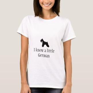 Miniaturschnauzer-Damen-Shirt T-Shirt