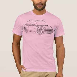 Minifassbinder-Kontur 2 T-Shirt