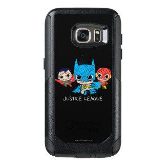Minigerechtigkeits-Liga-Skizze OtterBox Samsung Galaxy S7 Hülle