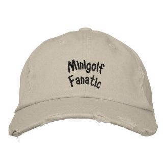 Minigolf Fanatiker Bestickte Caps