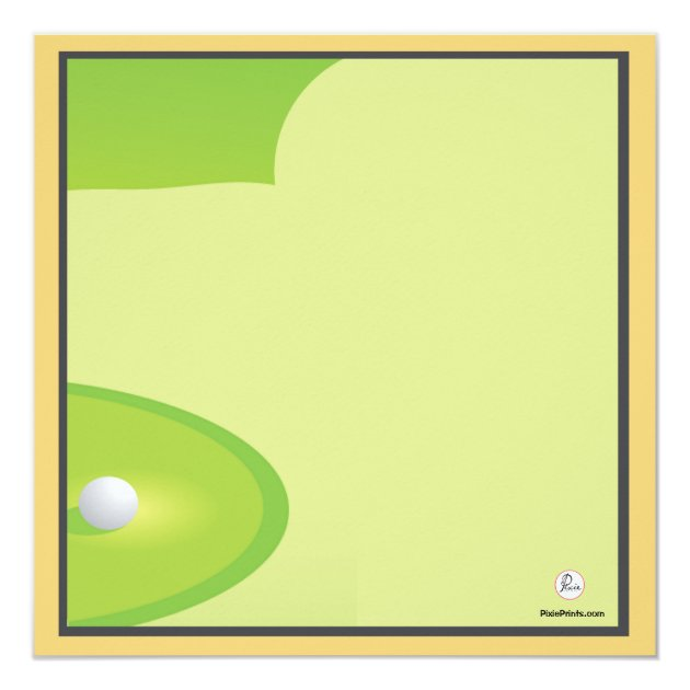 minigolf-spiel-einladung karte | zazzle.ch, Einladung