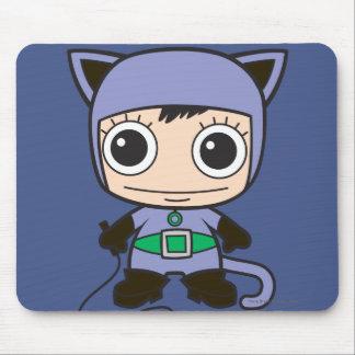 Minikatzen-Frau Mousepads
