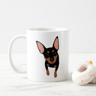 Minimaler Button-Liebhaber-klassische Kaffee-Tasse Kaffeetasse