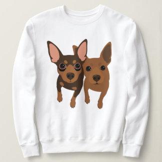 Minimales Button-Sweatshirt nach Maß Sweatshirt