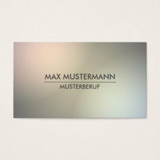 Minimalistische elegante moderne Visitenkarten