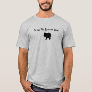 Minischwein-Rettungs-Vati-T - Shirt