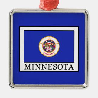 Minnesota Silbernes Ornament