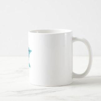 Minnesotaloon-Schwarzes auf aquamarinem Kaffeetasse