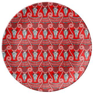 Minotaur dekorative Porzellan-Platte Teller