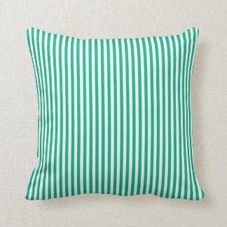 Minze Stripes Kissen im Freien