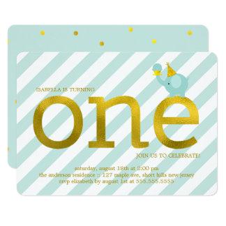 Minzen-und 12,7 X 17,8 Cm Einladungskarte