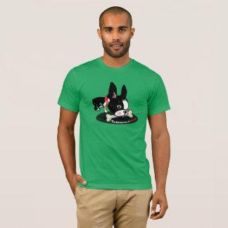 Mirabelle das Boston-Terrier Fell ein T-Shirt