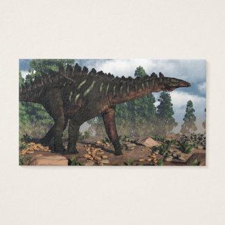 Miragaia Dinosaurier - 3D übertragen Visitenkarte