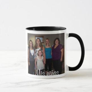 Mis niñas (meine Mädchen auf spanisch) Tasse