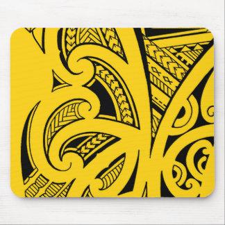 Mischtätowierungsarten, Maori-, Samoan und Mauspad