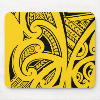 Mischtätowierungsarten, Maori-, Samoan und Mousepad