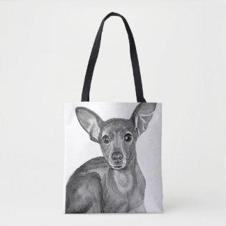 Mischzucht-Chihuahua Tasche