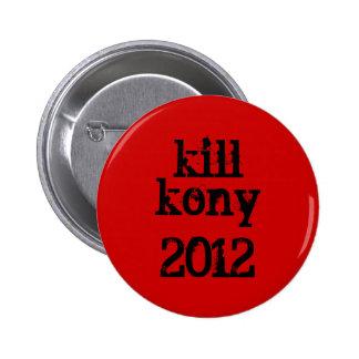 mise à mort kony, bouton 2012 pin's