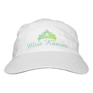 Miss Amerika Aqua-Grüntöne Tiara-Baseballmütze Headsweats Kappe