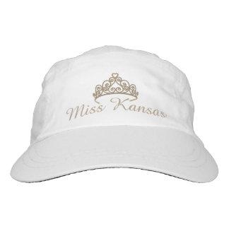 Miss Amerika-GoldTiara-Baseballmütze Headsweats Kappe