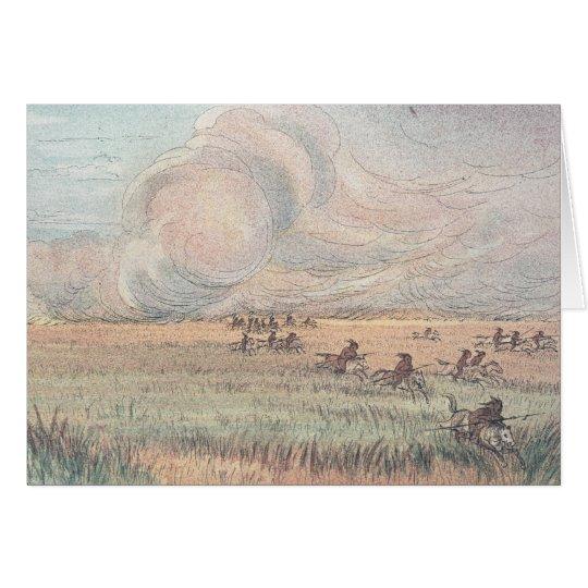 Missouri-Graslandfeuer Karte