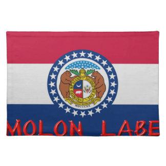 Missouri Molon Labe Tischset