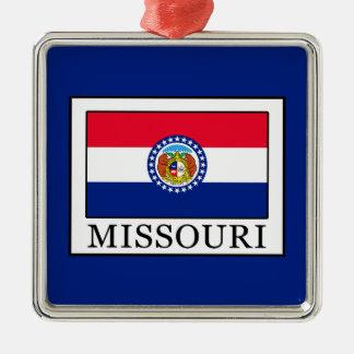 Missouri Silbernes Ornament