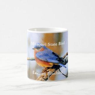 Missouri-Staats-Vogel, östlichesblaues… Kaffeetasse