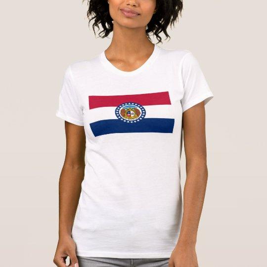 Missouri-Staatsflagge USA vereinigte T-Shirt