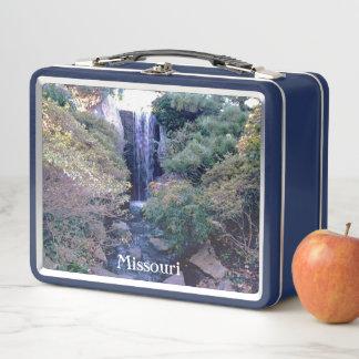 Missouri-Teufel-Eisschrank Metall Lunch Box