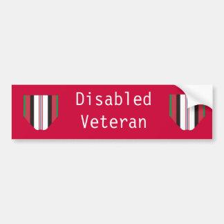 Mit Behinderung Autoaufkleber