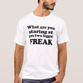 Mit Beinen versehener Freak zwei T-Shirt