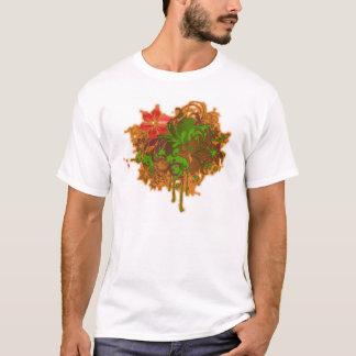 Mit Blumen T-Shirt