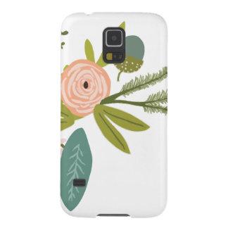 Mit Blumen und Fauna Samsung S5 Hülle