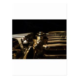 Mit den Augen eines Musikers (1) Postkarte