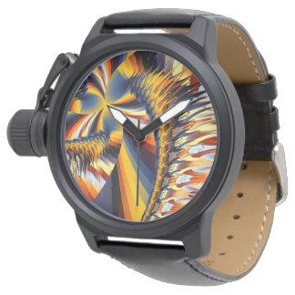 Mit einer Drehung Armbanduhr