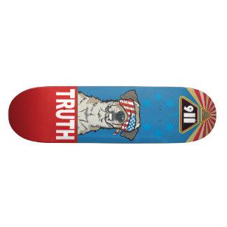 Mit Freiheit und Gerechtigkeit für Alle alte 20,1 Cm Skateboard Deck